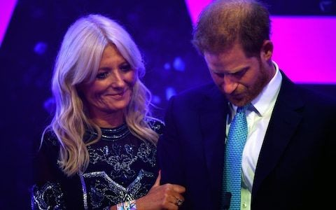 Prince Harry breaks down during emotional speech as Sussexes lay bare their 'world of pressure' in documentary