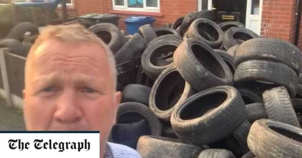 Tyre-dump comes full circle for fly-tipper after farmer gets revenge