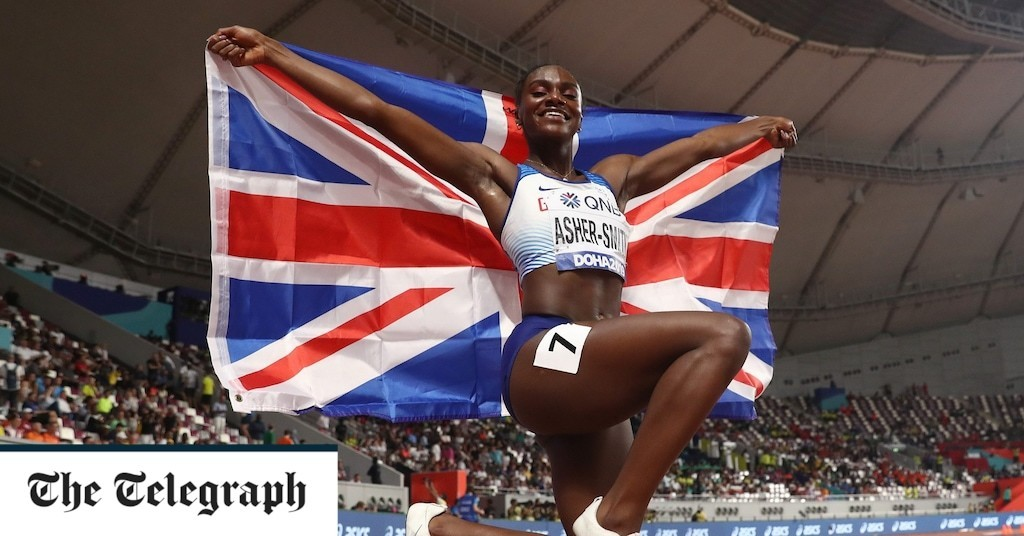 Dina Asher-Smith says she was relieved when Olympics were postponed