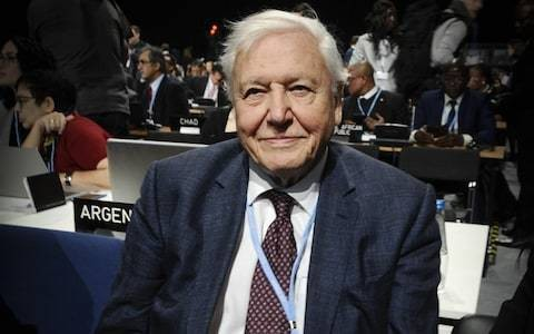 Sir David Attenborough issues dire warning about climate change