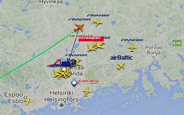 Brave passengers board last ever Flight 666 to HEL on Friday the 13th
