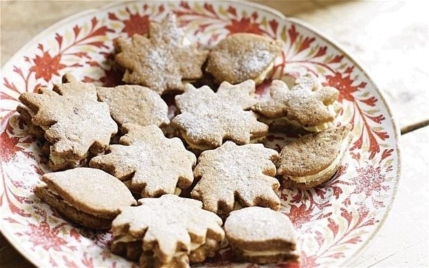 Pippa Middleton: pecan and maple buttercream biscuits recipe