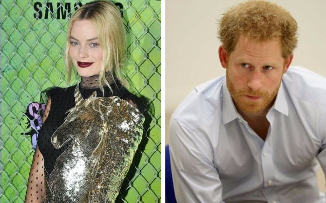 Suicide Squad actress Margot Robbie reveals she texts Prince Harry - and he's always quick to reply