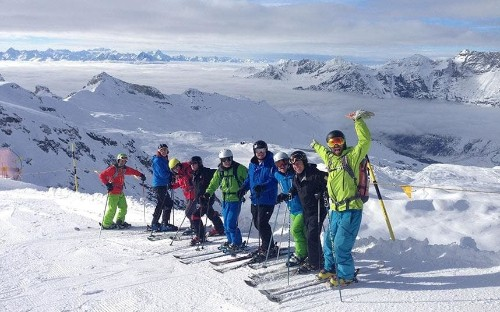 Can very good skiers still benefit from a week's lesson?