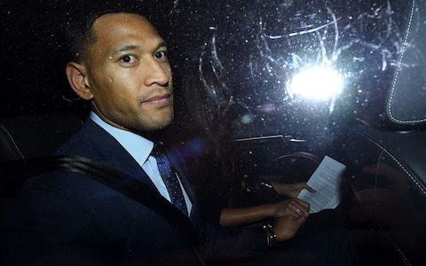 Israel Folau sacked by Rugby Australia over homophobic social media posts