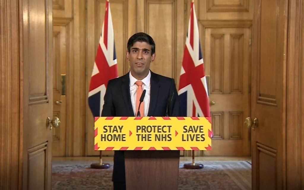 Frontline charities to receive £750m coronavirus bailout, Rishi Sunak announces