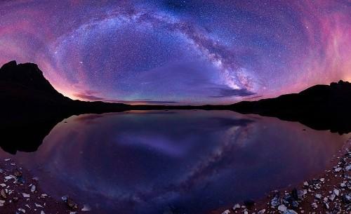 Milky Way panoramic photographs taken in US wilderness by Matt Payne - Telegraph