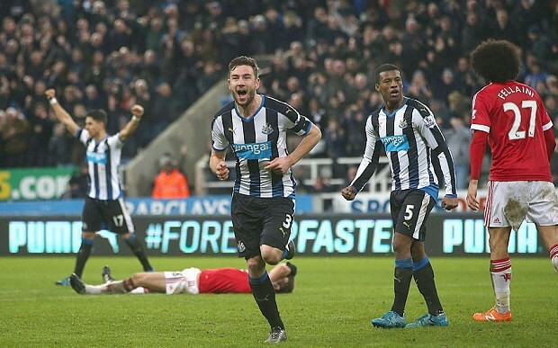 Newcastle 3 Manchester United 3, match report: Rooney bags brace but Dummett delivers in six-goal thriller