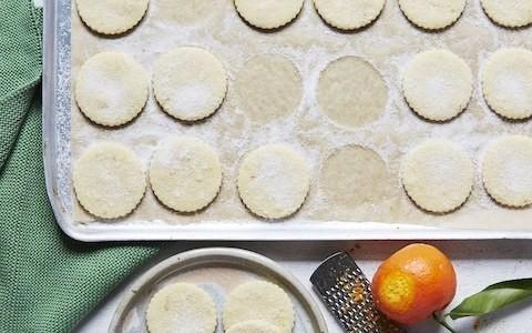 Orange shortbread recipe