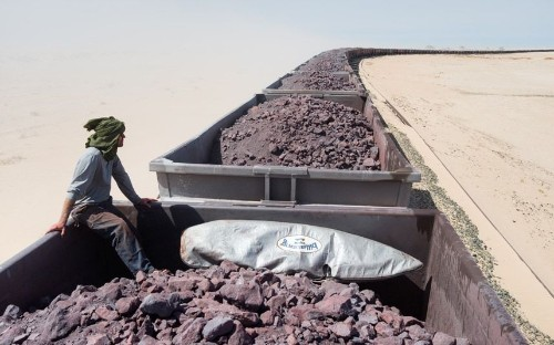 Hitching a ride through the Sahara on Mauritania's iron ore train, in pictures  - Telegraph