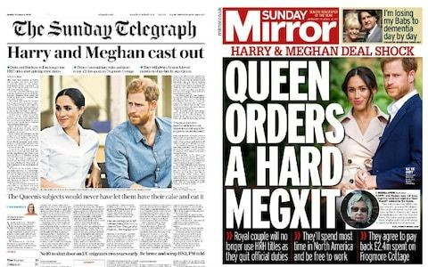'Royal history was made': How the papers reacted to 'Megxit'