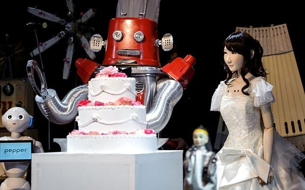 First Robot wedding takes place in Japan