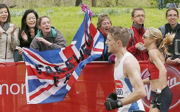 Paula Radcliffe effect takes hold of London Marathon as Britain's queen of the asphalt bids emotional farewell