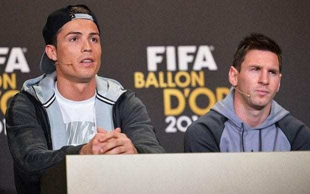 Revealed: Cristiano Ronaldo's obscene nickname for Lionel Messi in the Real Madrid dressing room