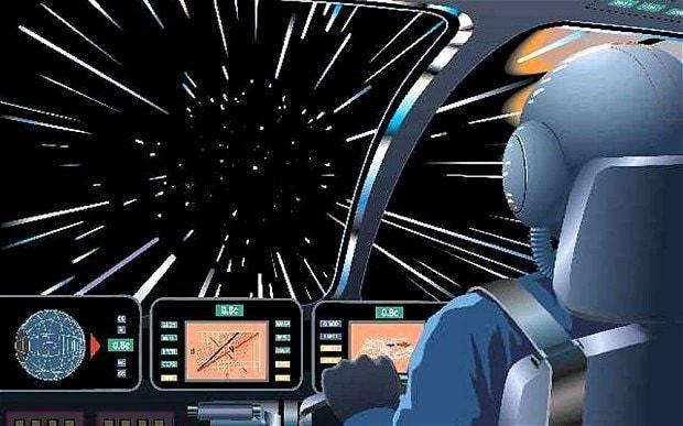 Nasa researches Star Trek warp drive for future space travel