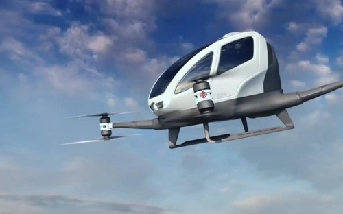 Flying robot taxi to start trials in Las Vegas