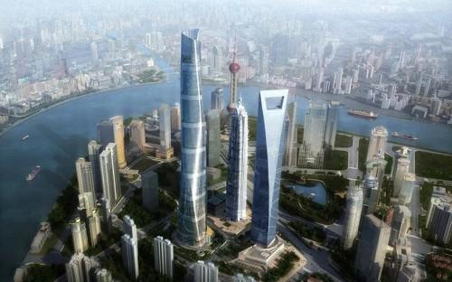 Shanghai's new landmark: China's tallest building