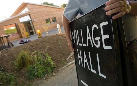 Government to redecorate crumbling village halls with new funding scheme to combat lonelines