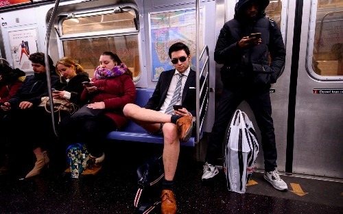 No Pants Subway Ride 2019, in pictures