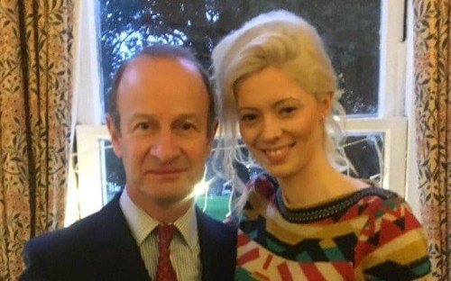 Family of Ukip leader 'devastated' as he swaps his wife for model, 25