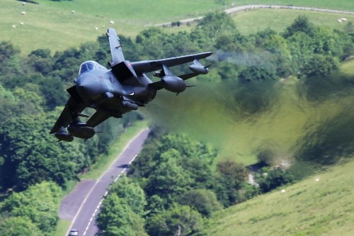 Did you know about the secret Welsh valleys where you can watch fighter jets?