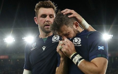 Through gloom of World Cup exit Scotland depart with heads held high after going toe-to-toe with Japan in a classic