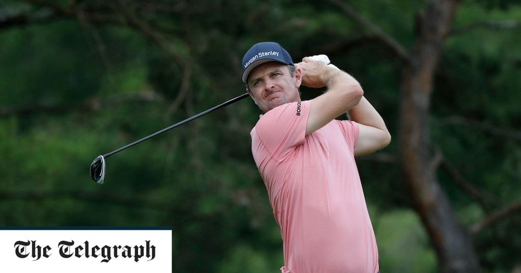 Justin Rose exclusive interview: 'My golf has been poor for a year, but I'm hungry for success after turning 40'