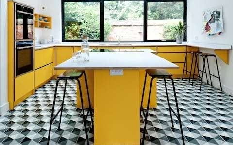 Forget the bad memories – Formica and linoleum are back in fashion