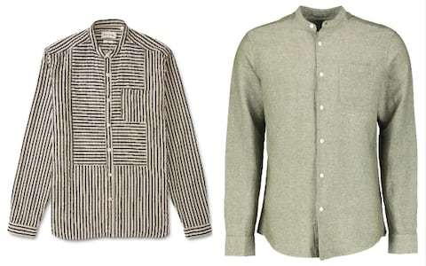 So-called 'grandad shirts' are all the rage when it comes to smart-casual – but are you too old to wear one?
