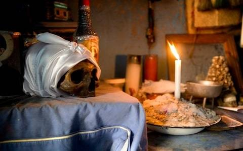 Sacrificial chickens and human skulls (but no dolls) – my day with a Voodoo practitioner