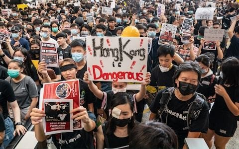 HSBC and Standard Chartered speak out against Hong Kong violence