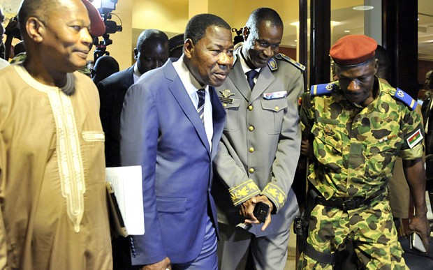 Burkina Faso 'to reinstate interim government after coup'