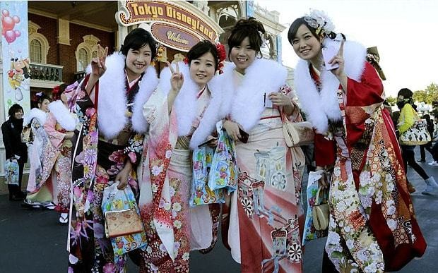 Japan has a problem - but it isn't young women who don't give birth