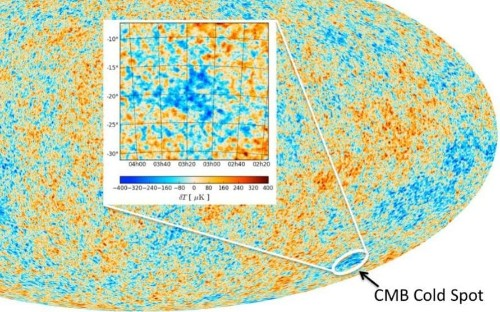 First evidence of the multiverse? Scientists think Cold Spot in space could be colliding universes