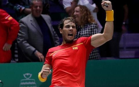 Rafael Nadal ends Great Britain's run at Davis Cup as 'naughty' Spain reach first final since 2012