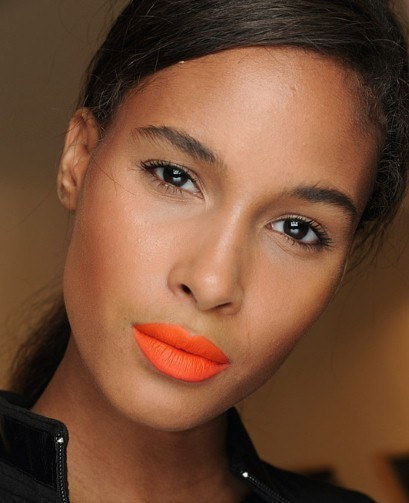 Beauty how to: coral lips