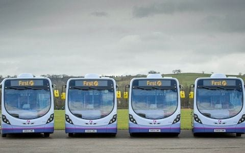 FirstGroup bus business set for buyouts from its managers