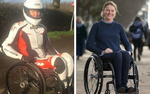'I plan to shave my London Marathon best by days' - wheelchair athlete Claire Lomas on why she will attempt this year's event in motorcycle gear