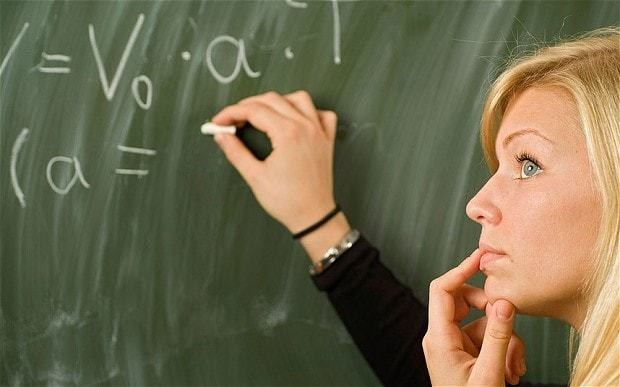 Maths and physics seen as 'irrelevant' and too 'male'