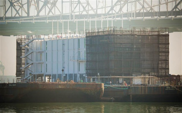Is Google building a floating data centre?