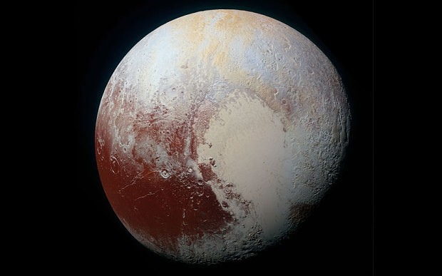 Pluto filled with 'spectacular colours' and varying terrain, Nasa's New Horizons mission reveals