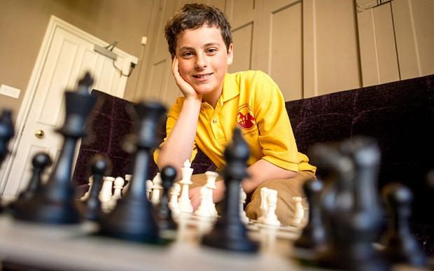 Chess expert, 13, wins scholarship to Brighton College