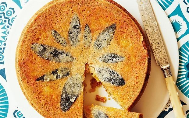 The new baker: sage apple cake