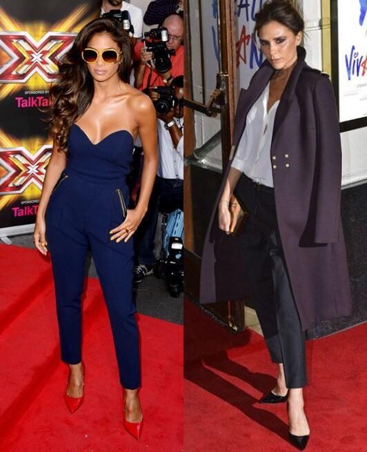Is Nicole Scherzinger stealing Victoria Beckham's style?