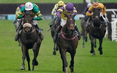 Happy Diva holds on to win the Gold Cup at Cheltenham Festival