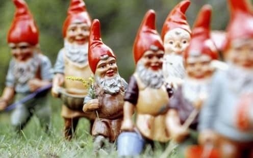 The slow decline of the garden gnome