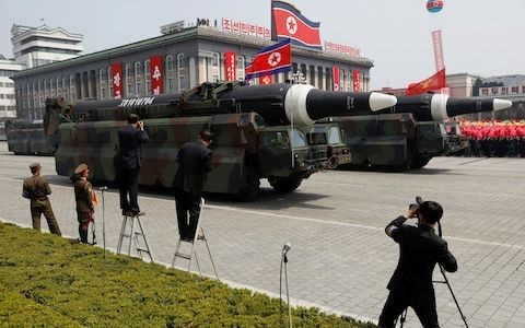US deploys monitoring aircraft over fears North Korea is preparing to launch rocket