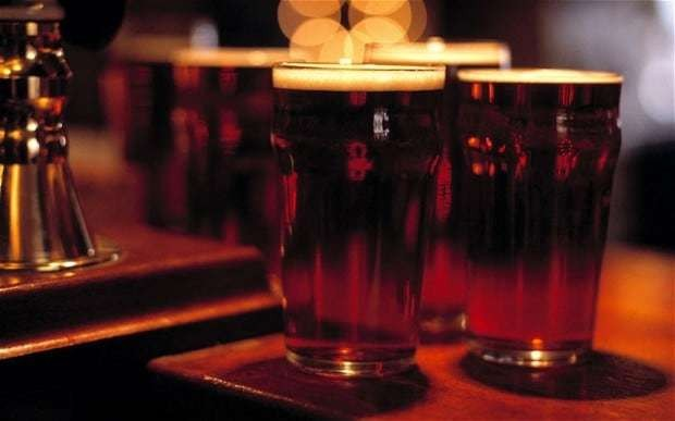 Beer could help 'protect brain against Parkinson's and Alzheimer's'