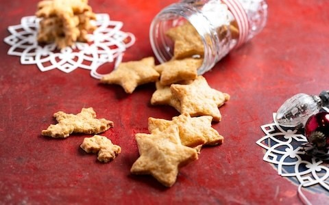 Cheese star biscuits recipe
