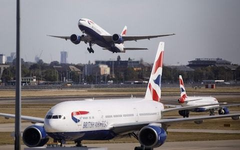British Airways pilots abandon planned strike in 'responsible' step to encourage new pay deal talks